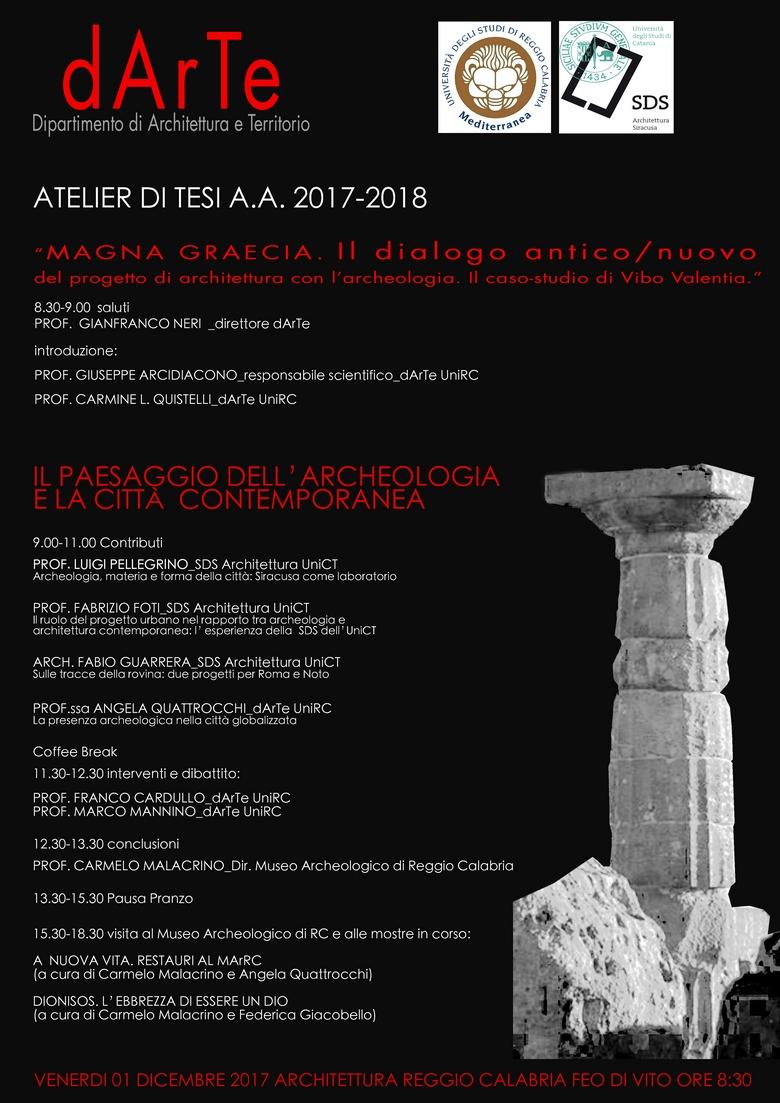 Dipartimento Di Agraria Università Mediterranea Di Reggio Calabria
